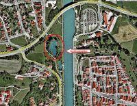 Stadtbachweiher-Landkarte